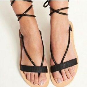 l*space rio wrap sandals